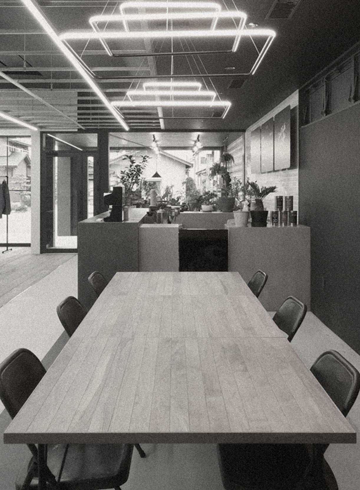 Transitのカフェスペースイメージ